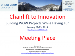 Chairlift to Innovation - Poster