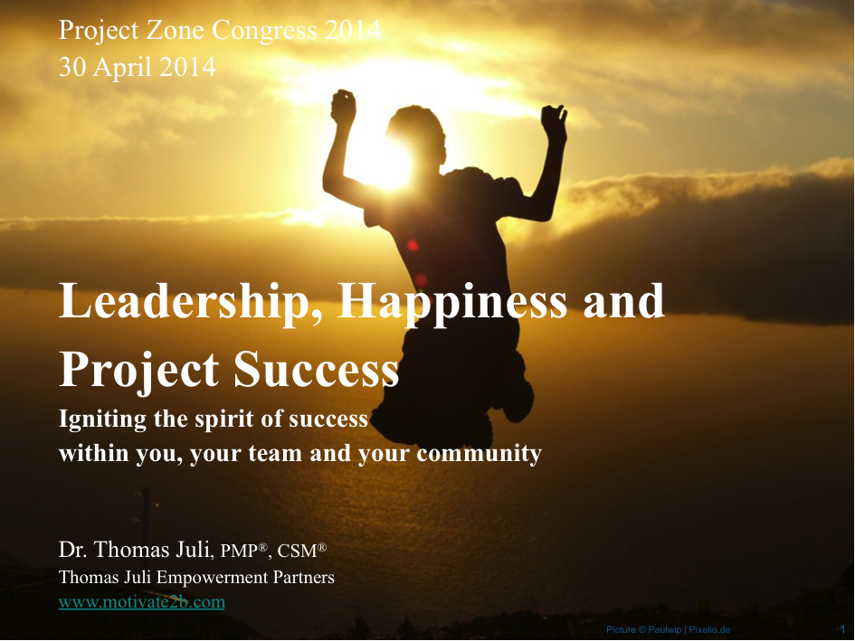 Title Happiness PPT Project Zone 2014